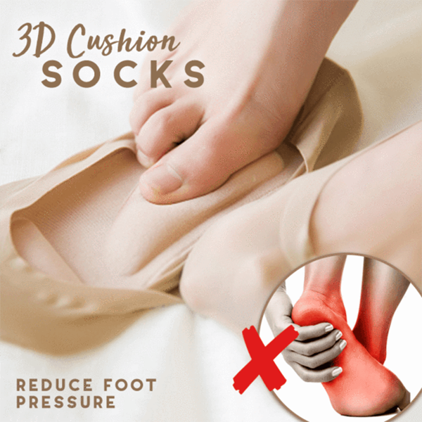 3D Cushion Socks