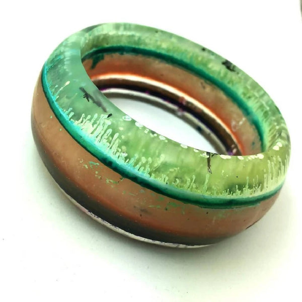 Resin bangle by Satellyte Designs