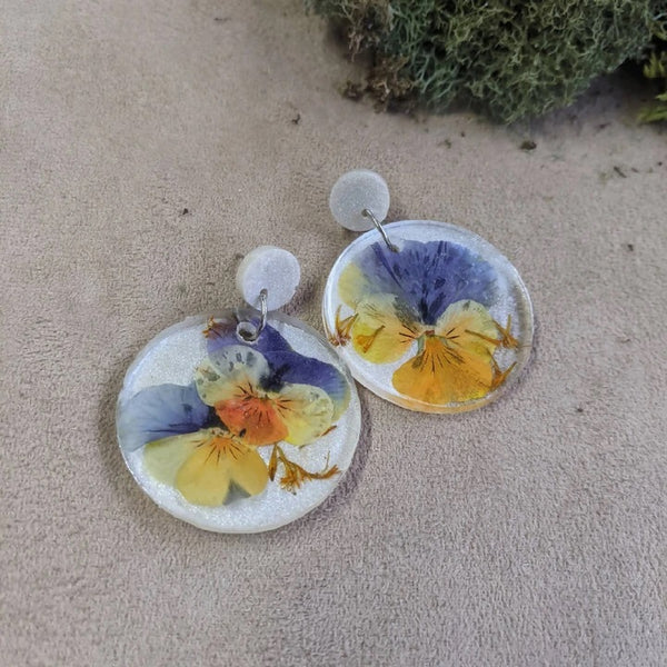 Resin Earrings by Roni & Poly