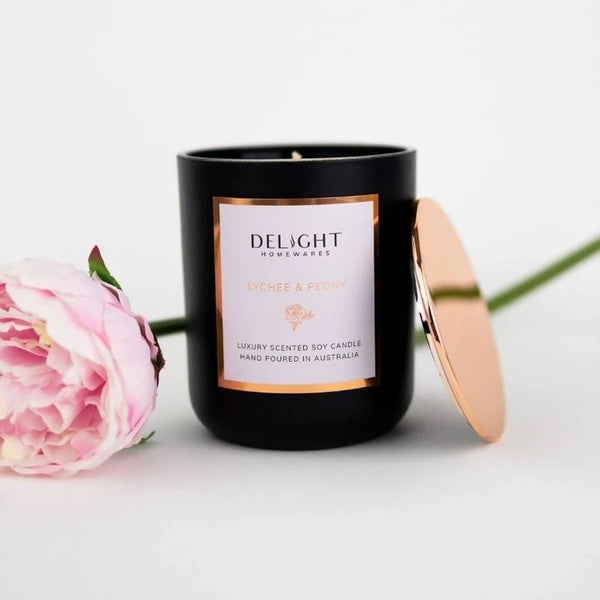 Luxury Scented Candle by Delight Homewares