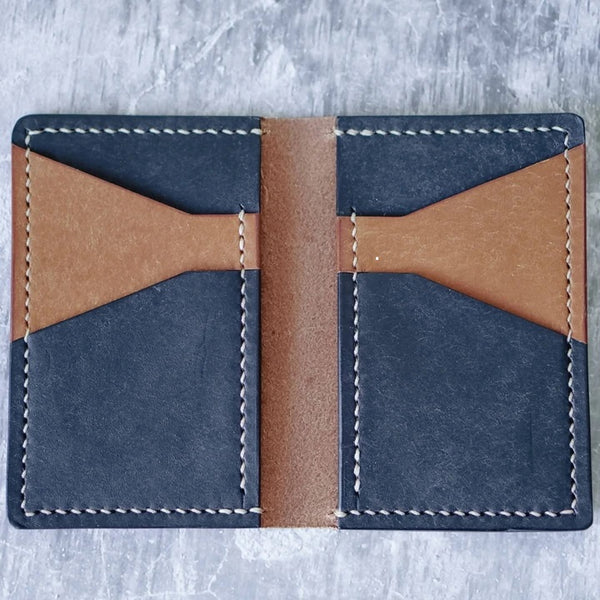 6 Pocket Leather Wallet by Lighthouse Leather Co.