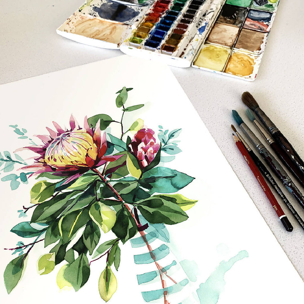 Protea Limited edition Art print