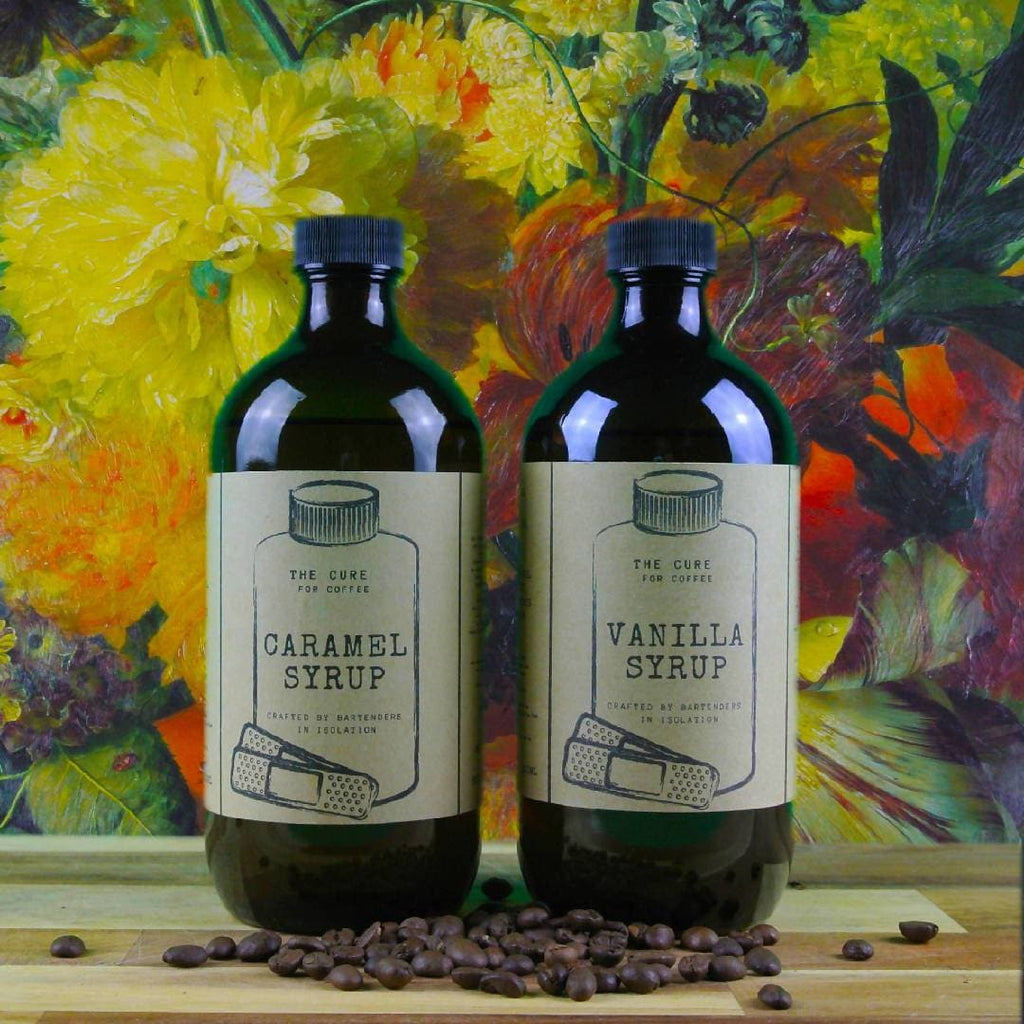 Coffee Syrups Vanilla + Caramel 500mL