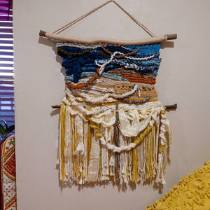 'TIDE' Handwoven Wall Hanging