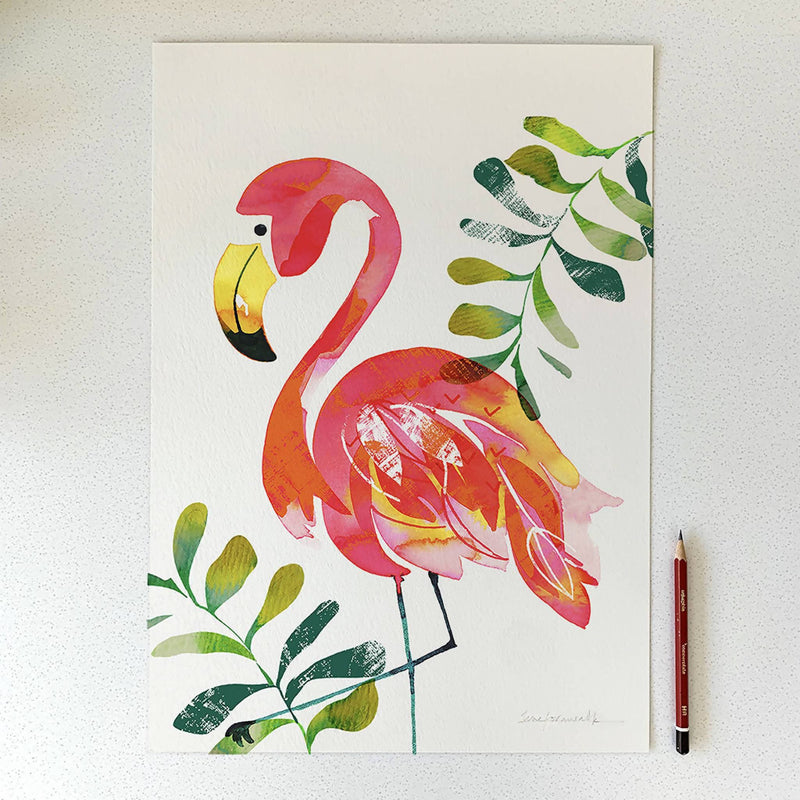 Flamingo Limited Edition Print