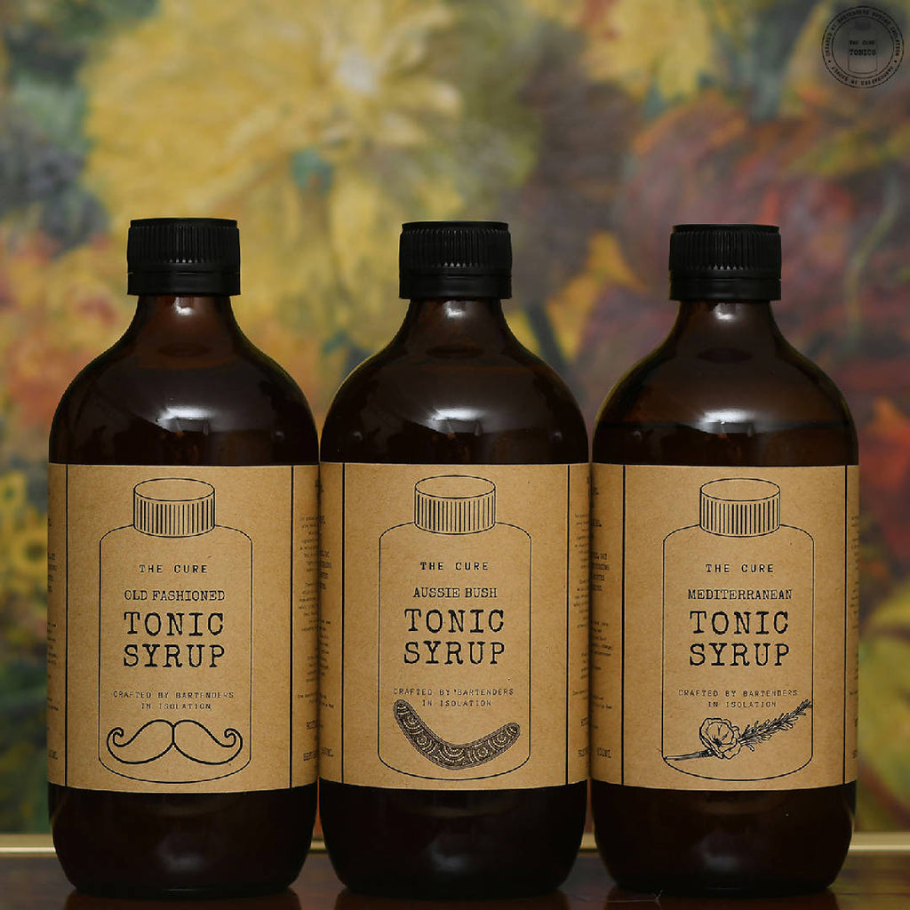 Tonic Syrups Set of 3 x 500mL