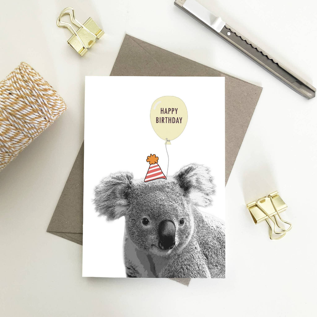 Australian wildlife Animal Birthday Cards