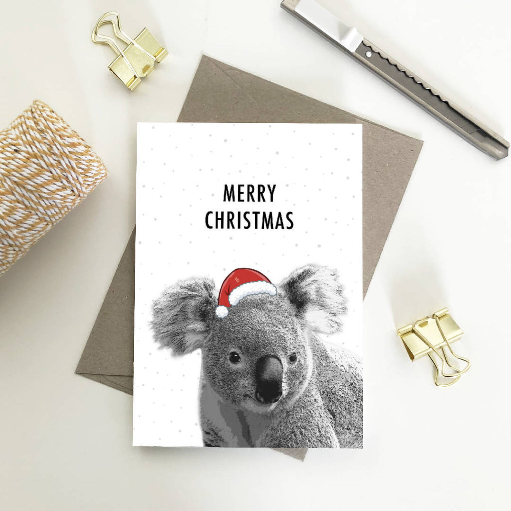 Australian Wildlife Animal Christmas Cards