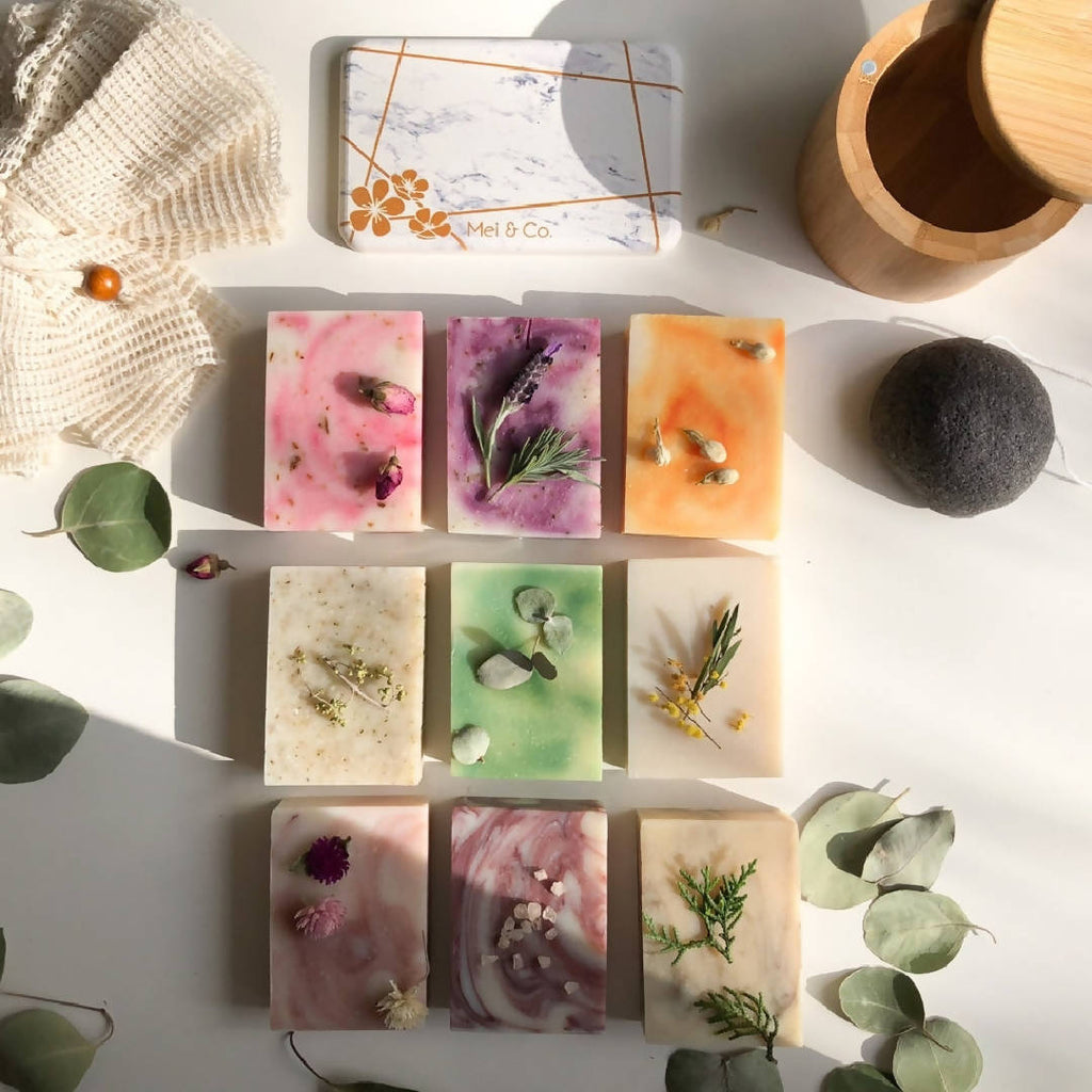 Delux Natural Handmade Triple Trio Natural Handmade Soap Gift Pack