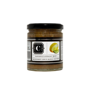Rainforest Lime & Mango Chutney - 210g