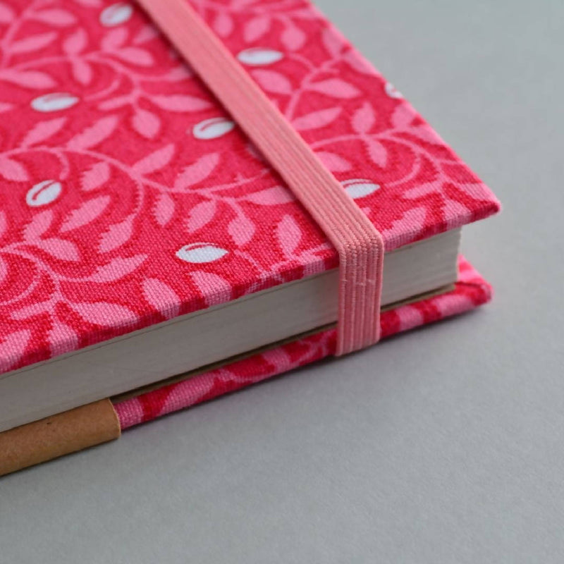 Sherbet Vines – Hardcover Floral Notebook – A5 Lined 100% Recycled Paper