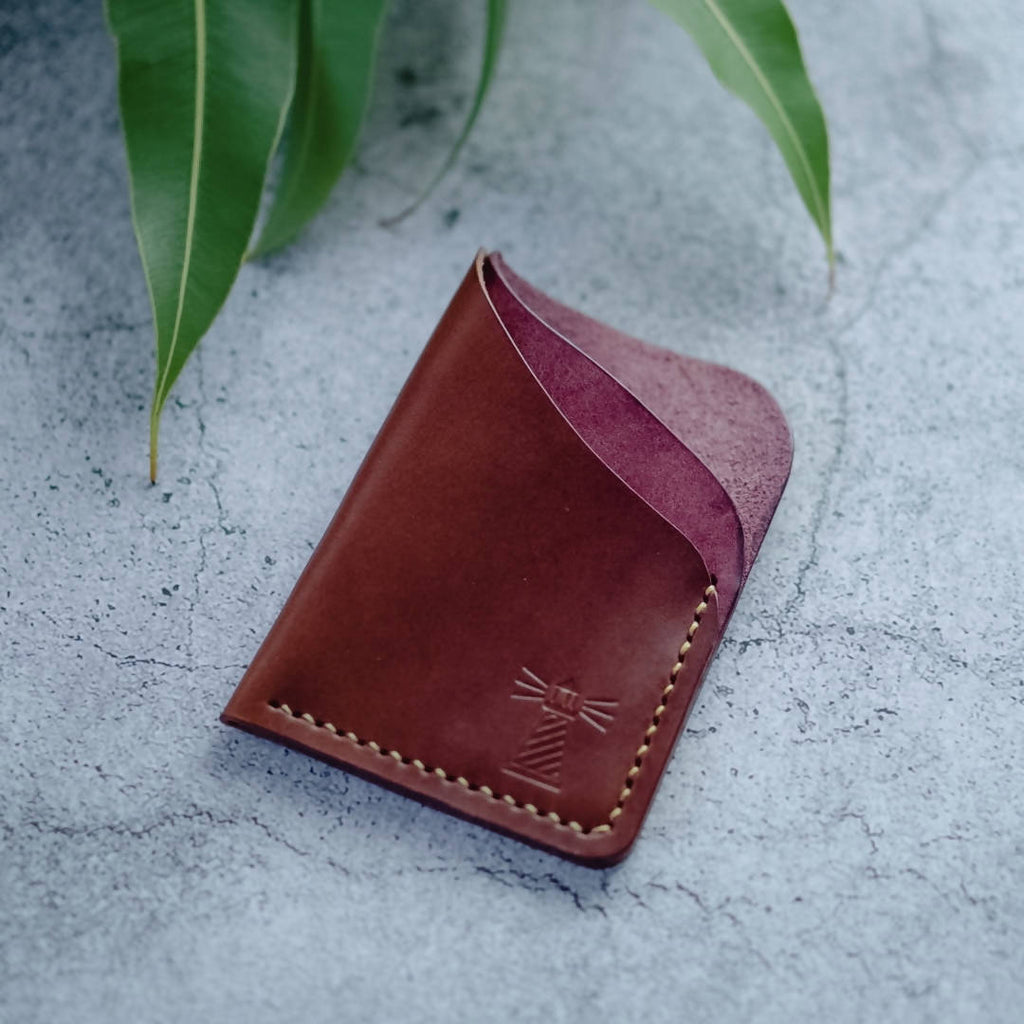 The Astragal - 3 Pocket Leather Card Wallet
