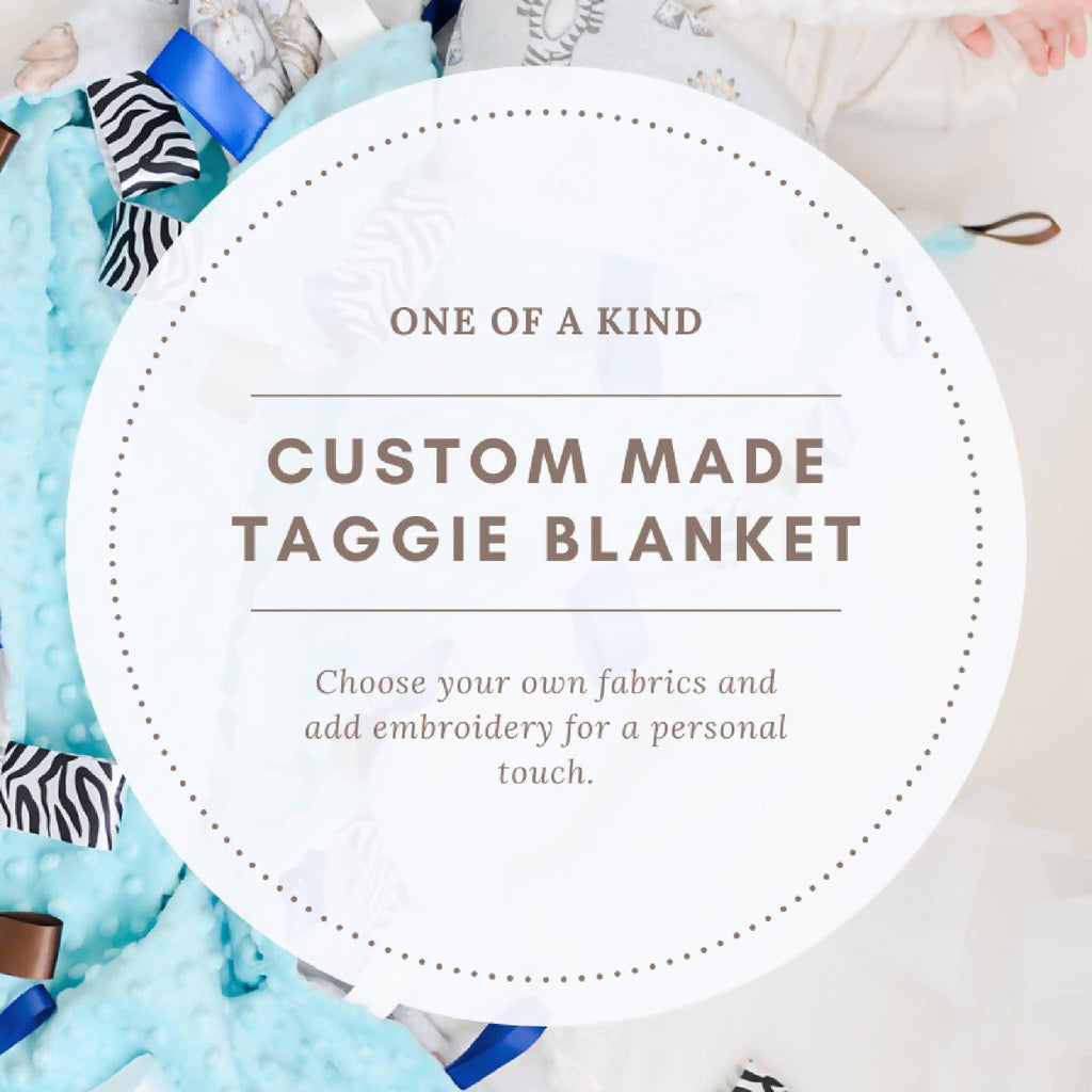 Custom Taggie Blanket