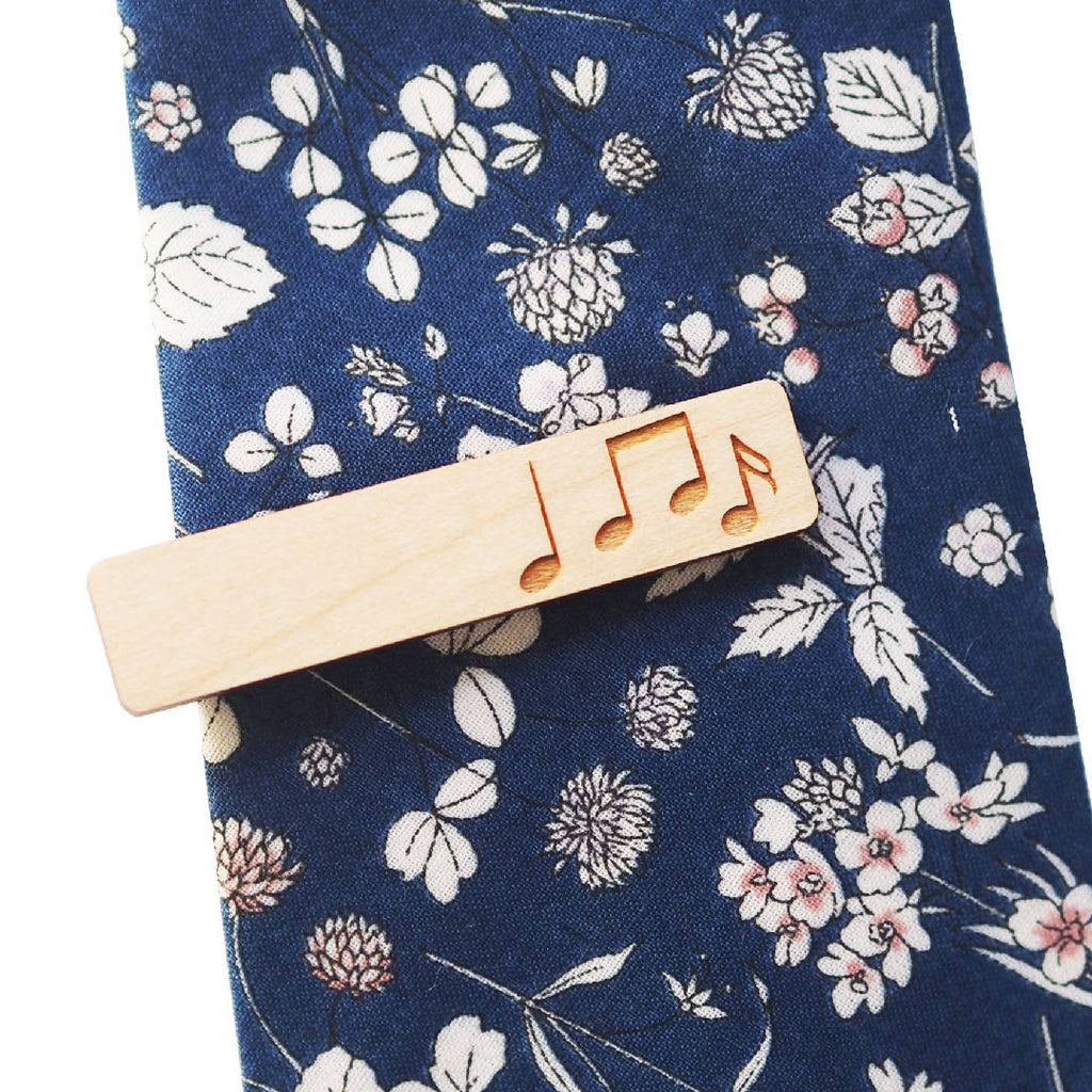 Musical Melody Tie Clip
