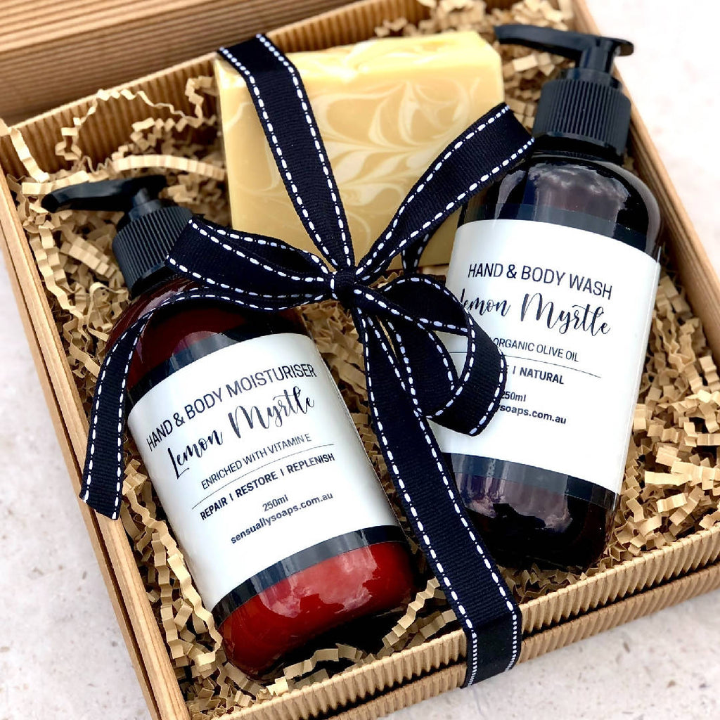 Lemon Myrtle Bath & Body Box
