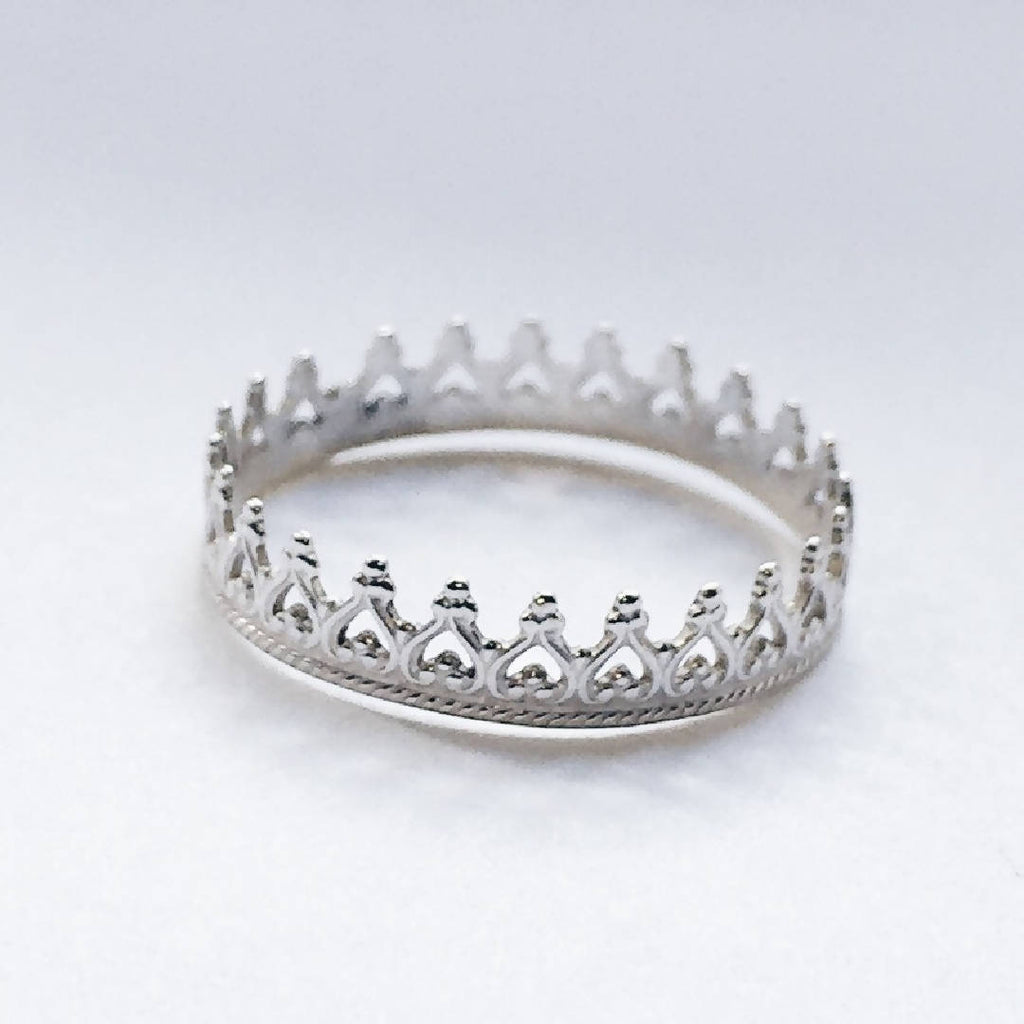 Versailles - Sterling Silver Crown Ring