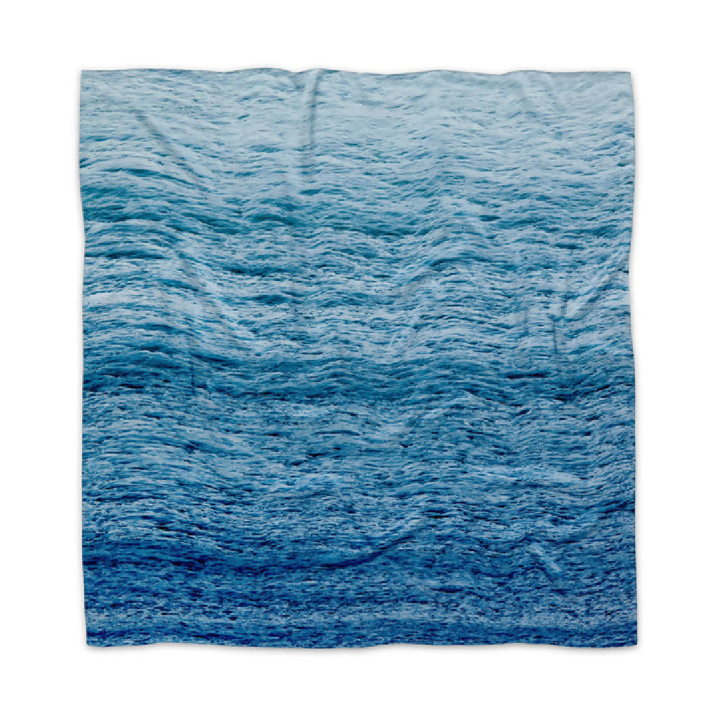 Silk Scarf in Ripples
