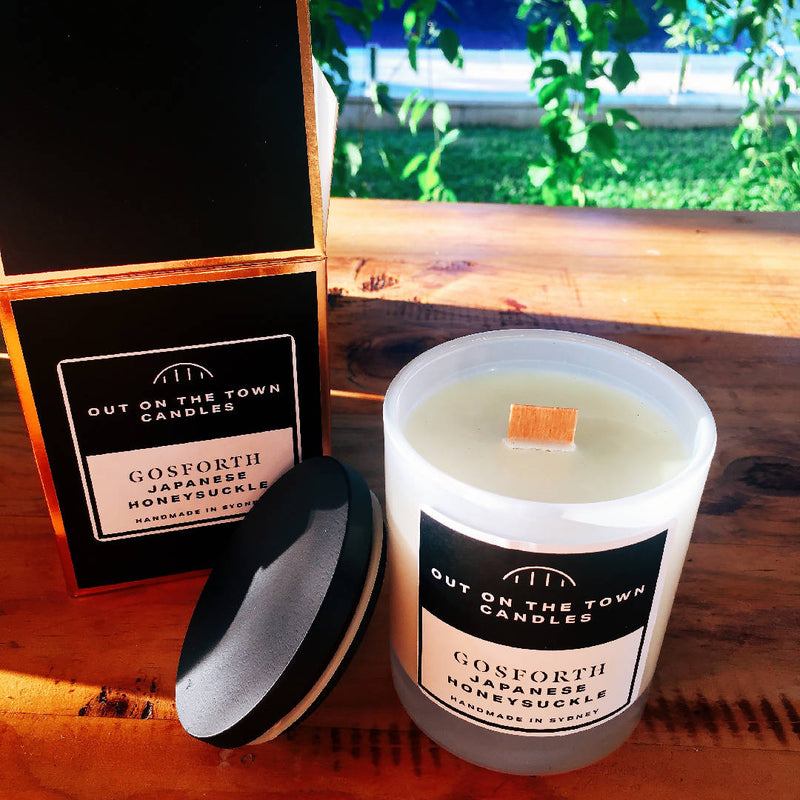 GOSFORTH Large Soy Wax Candle