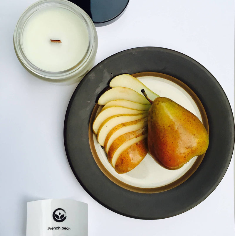 •French Pear• Soy candle