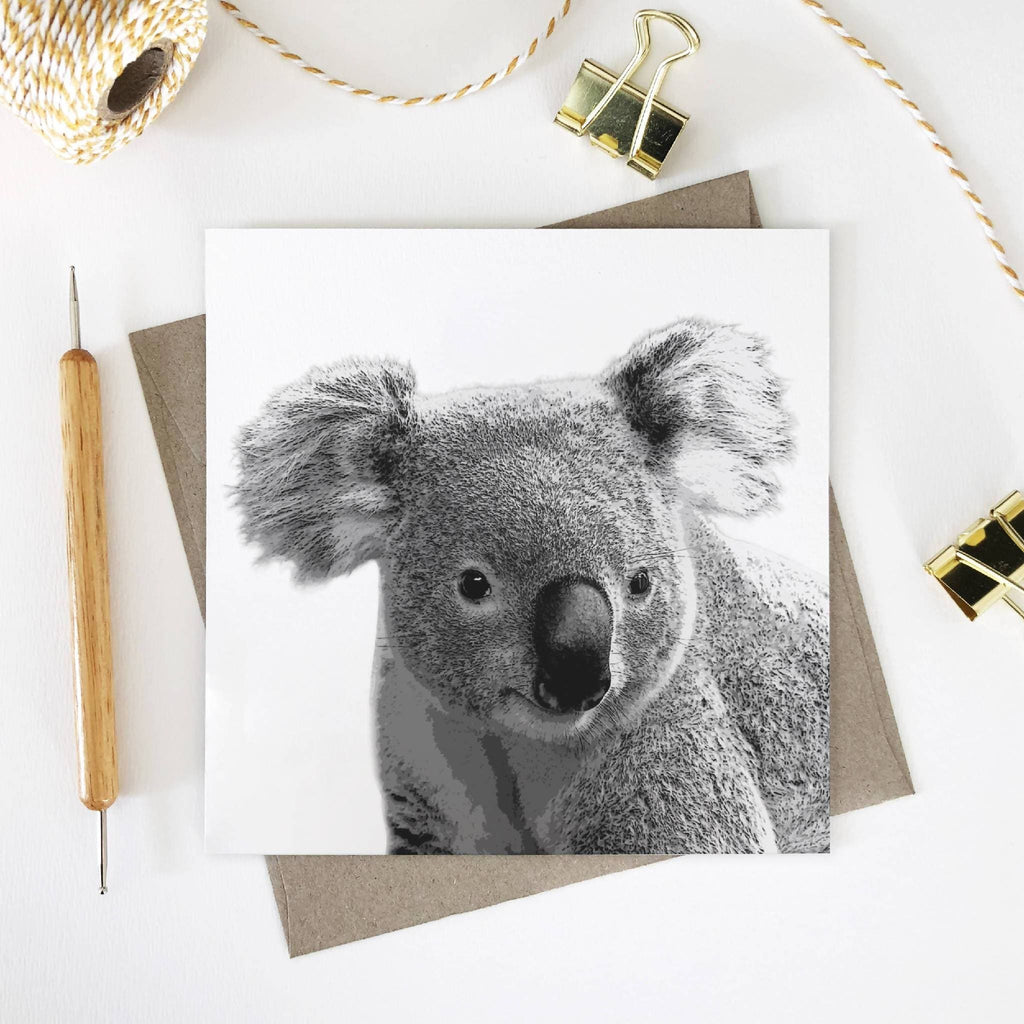 Australian Wildlife Animal Square Greeting Cards