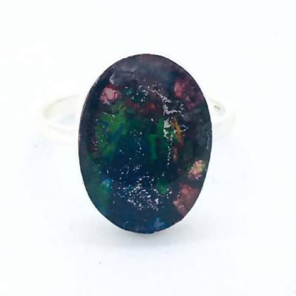 Organic Sterling Silver Art Ring