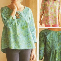 Gathered Back Top & Tunic
