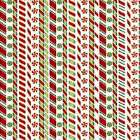 Santa's Sweet Stripes W
