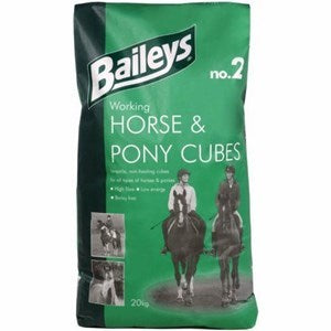 Baileys No.2 Working Horse & Pony Cubes 20kg