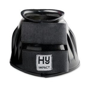 Hy Impact Over Reach Boots Black - Medium