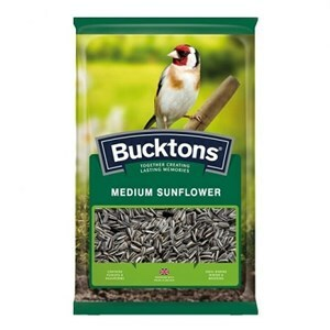 Bucktons Medium Striped Sunflower  - 12.75kg