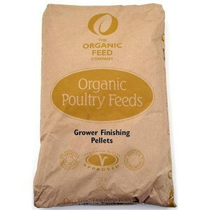 Allen & Page Organic Poultry Grower Finisher  - 5 kg