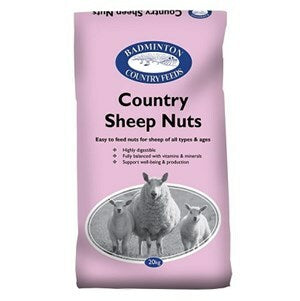 Badminton Country Sheep Nuts - 20 kg