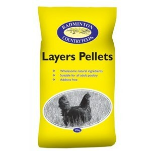 Badminton Layers Pellets - 20 kg