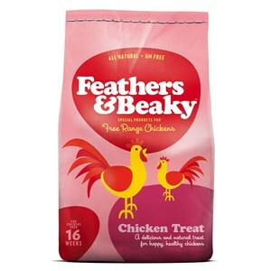 Feathers & Beaky Chicken Treats  - 5 kg