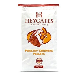 Heygates Poultry Grower Pellets + Coccid - 20 kg