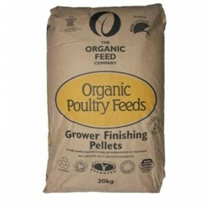 Allen & Page Organic Poultry Grower Finisher  - 20 kg