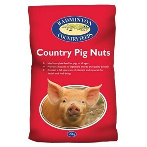 Badminton Country Pig Nuts - 20 kg