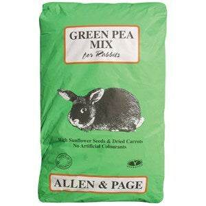 Allen & Page Green Pea Rabbit Mix - 20 kg