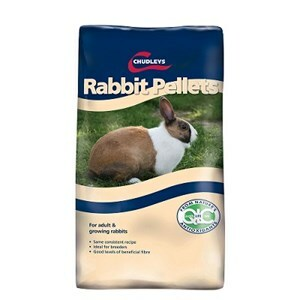 Chudleys Rabbit Pellets (Plain)  - 20 kg