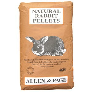 Allen & Page Natural Rabbit Pellets - 20 kg