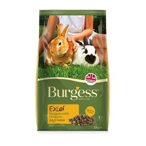 Burgess Excel Rabbit Nuggets Oregano - 2 kg