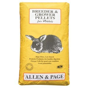 Allen & Page Rabbit Breeder & Grower Pellets  - 20 kg