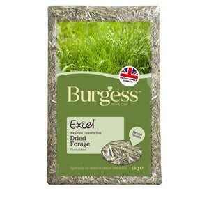 Burgess Excel Forage Feeding Hay - 1 kg