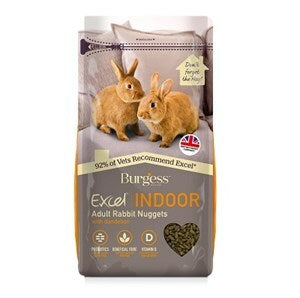 Burgess Excel Indoor Rabbit Nuggets  - 1.5 kg