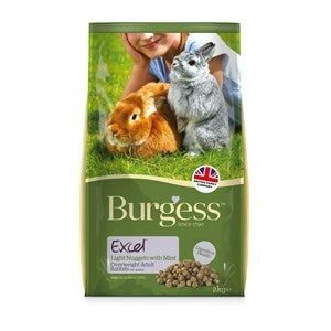 Burgess Excel Rabbit Light Nuggets - 2 kg