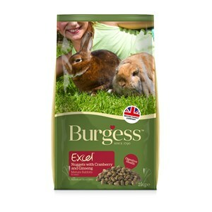 Burgess Excel Rabbit Mature Nuggets  - 2 kg