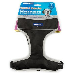 Ancol Travel & Exercise Harness 55-87cm  - Large