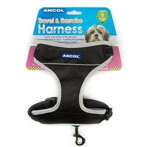 Ancol Travel & Exercise Harness 37-58cm  - Small