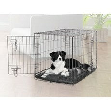 Dogit 2 Door Black Dog Crate - Giant