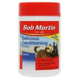 Bob Martin Delicious Conditioning Tablets Dog x3 - Outer